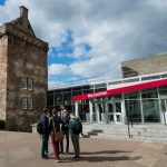 Reception del Merchiston Campus